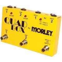 MORLEY – QUADBOX – switch 2 guitares 2 amplis