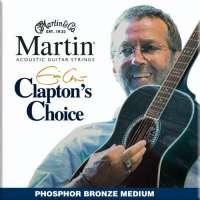 Martin & Co – Cordes pour les guitares folk, acoustiques et électro acoustiques JEU CLAPTON MEDIUM 13-56