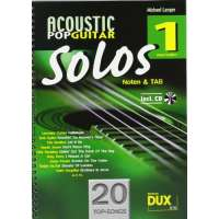 Acoustic Pop Guitar Solos Solf. & Tab Vol.1 CD