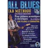 Rébillard : All Blues Methode (+1 CD) – Guitare Tab
