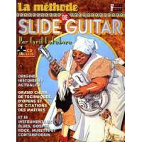 La Methode de Slide Guitar avec CD