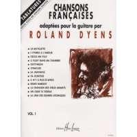Chansons françaises Volume 1 – guitare avec tablatures