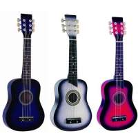Guitare cordes métal pour Enfant 3 Coloris au choix ~ Neuve (bleue)