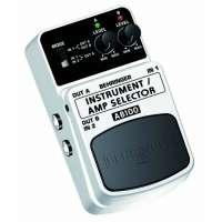Behringer Guitar/Amp Selector / AB100 Commutateur A/B universel (Import Royaume Uni)