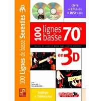 100 Lignes de Basse 70′s en 3D (livre/CD/DVD)