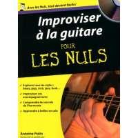 Improviser à la guitare pour les nuls (1CD audio)