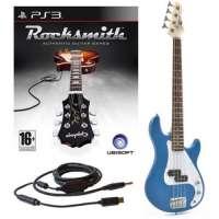 Rocksmith (PS3) 3/4 G-4 électrique guitare basse en bleu