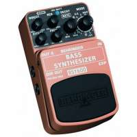 Behringer BASS SYNTHESIZER / BSY600 Pédale d'effet synthétiseur Pour basses (Import Royaume Uni)