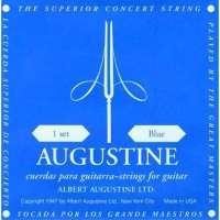 Augustine – Jeux de cordes nylon pour guitares classiques jeu de corde Classique Standard BLEU – tirant fort