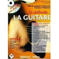Je débute… La Guitare (+ CD morceaux avec play-back)