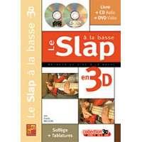 Slap a la Basse en 3D (livre+CD+DVD)
