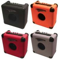 AMPLI Guitare 10W 4 COLORIS (Avec Distortion) ~ Neuf & Garantie (Orange)