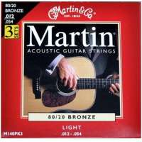 Martin – 80/20 Bronze – 3 jeux de cordes pour guitare folk – Tirant light .012-.054 (Import Royaume Uni)