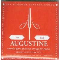 Augustine – Jeux de cordes nylon pour guitares classiques jeu de corde Classique Standard ROUGE