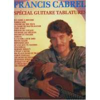 Cabrel Francis Special Guitare Tablatures