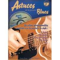 Astuces de la Guitare Blues Tab + CD
