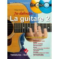 Je Débute la Guitare Vol 2 (+ 1 CD +1 DVD)