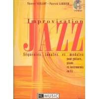 Improvisation jazz : Séquences tonales et modales pour guitare, piano et instruments en Ut