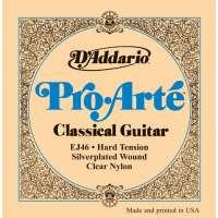 D'Addario EJ46 Pro-Arte Hard Jeu de cordes pour guitare classique Tirant fort (.028-.044) (Import Royaume Uni)