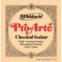 D'Addario – Jeux de cordes nylon pour guitares classiques EJ45 – Jeu classique PRO ARTE TIRANT NORMAL