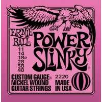 Ernie Ball – Jeux de cordes pour guitares électriques Jeu corde electrique – Power Slinky – 11/48 – 2220