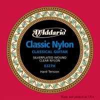 D'Addario EJ27H Student Classics Jeu de cordes pour guitare classique Tirant fort (.028-.044) (Import Royaume Uni)